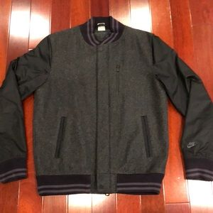 Nike Wool Varsity Jacket Size Medium